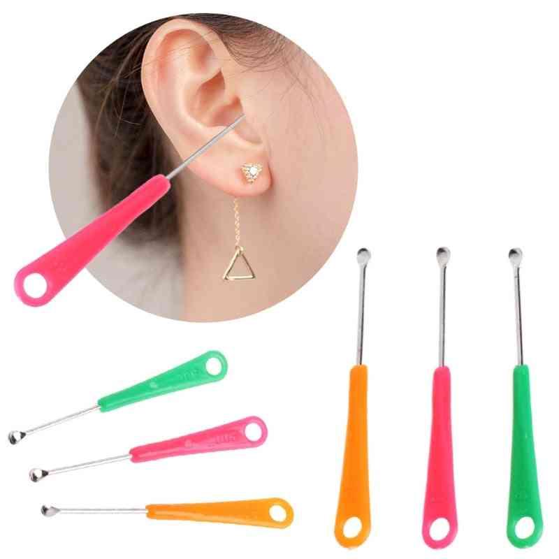 Earpick Spoon Tool Clean Ear Wax Curette Remover