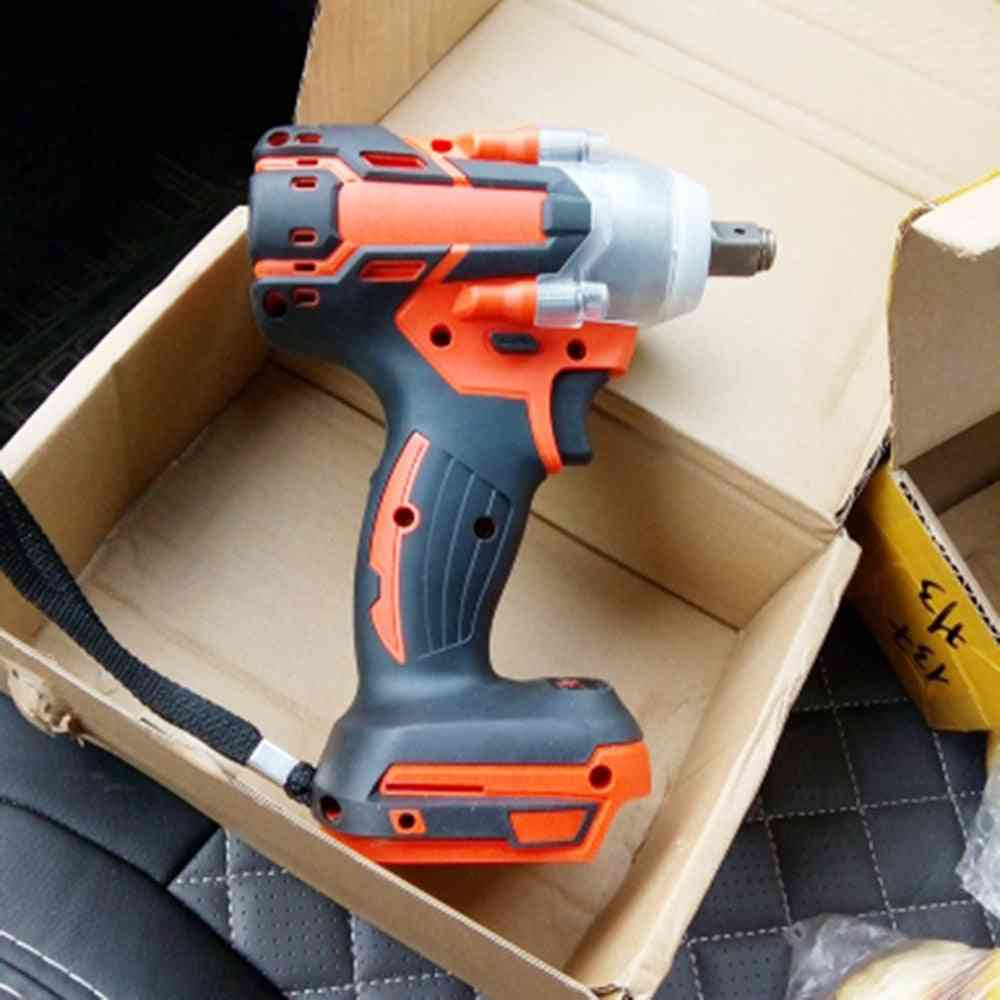 Brushless Electric Wrench, Impact Socket For Battery, Hand Drill Installation, Power Tool