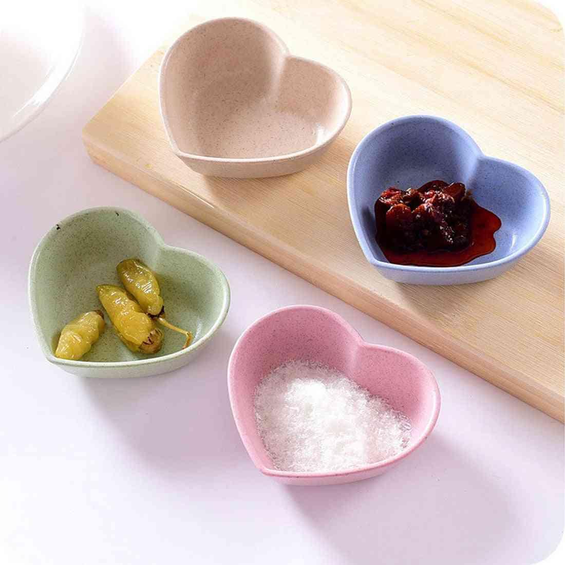 Heart Shape Lightweight Seasoning Bowl