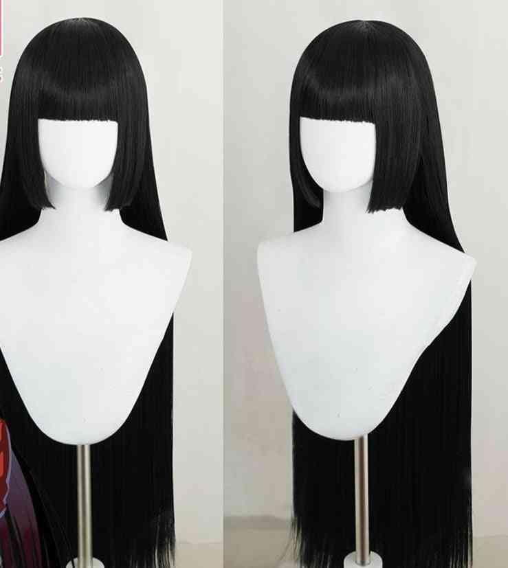 Women Black Heat Resistant Synthetic Hair