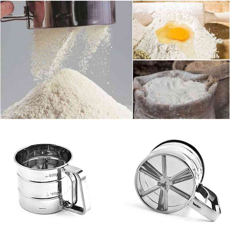 Stainless Steel Flour Sieve Cup Sifter