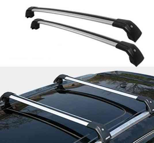 Aluminum Alloy Roof Side Bars And Cross Rails Rack Luggage Carrier