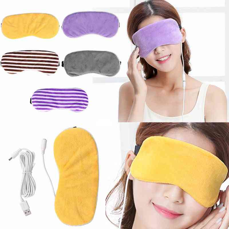 Usb Heating Steam Eyeshade Lavender Eye Mask