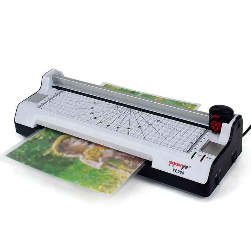 Photo Paper Hot And Cold Thermal Laminator Machine