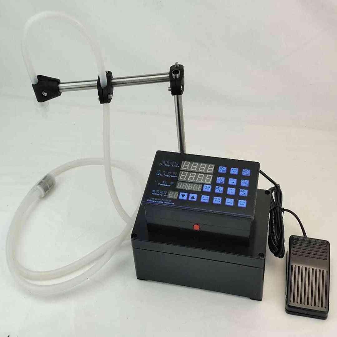 Electrical Liquids Filling Machine Mini Bottled Water Filler Digital Pump