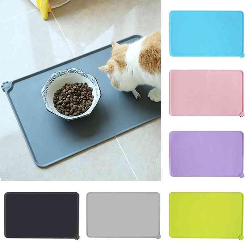 Pet Food Pad, Pet Bowl Drinking Mat