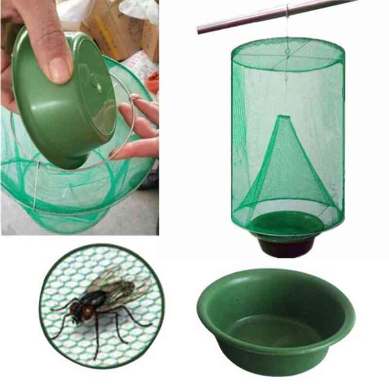 Reusable Hanging Folding Fly Insect Trap Cage Net