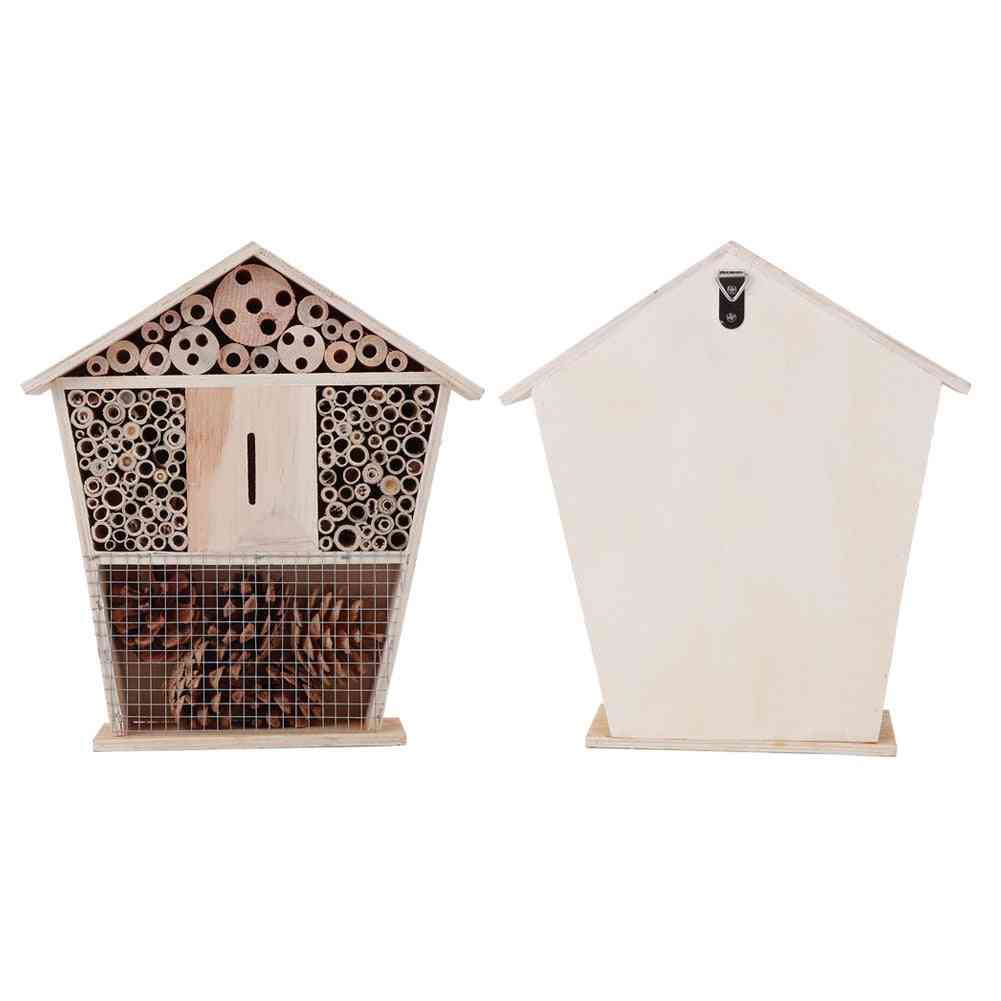 Gardening Wooden Insect Small House Shelter