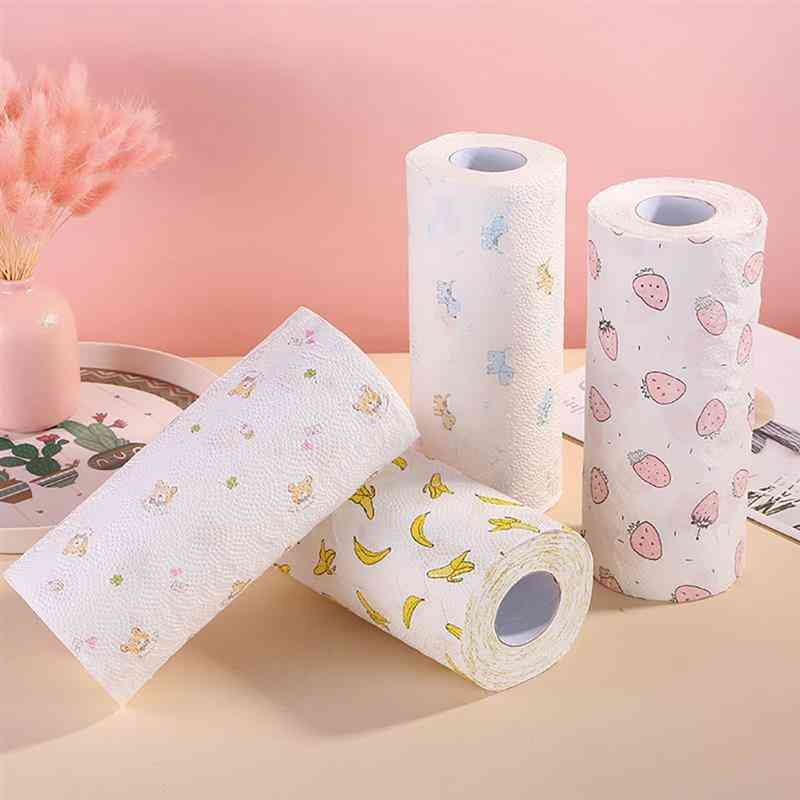 Oil & Water Absorbing Disposable Roll Paper