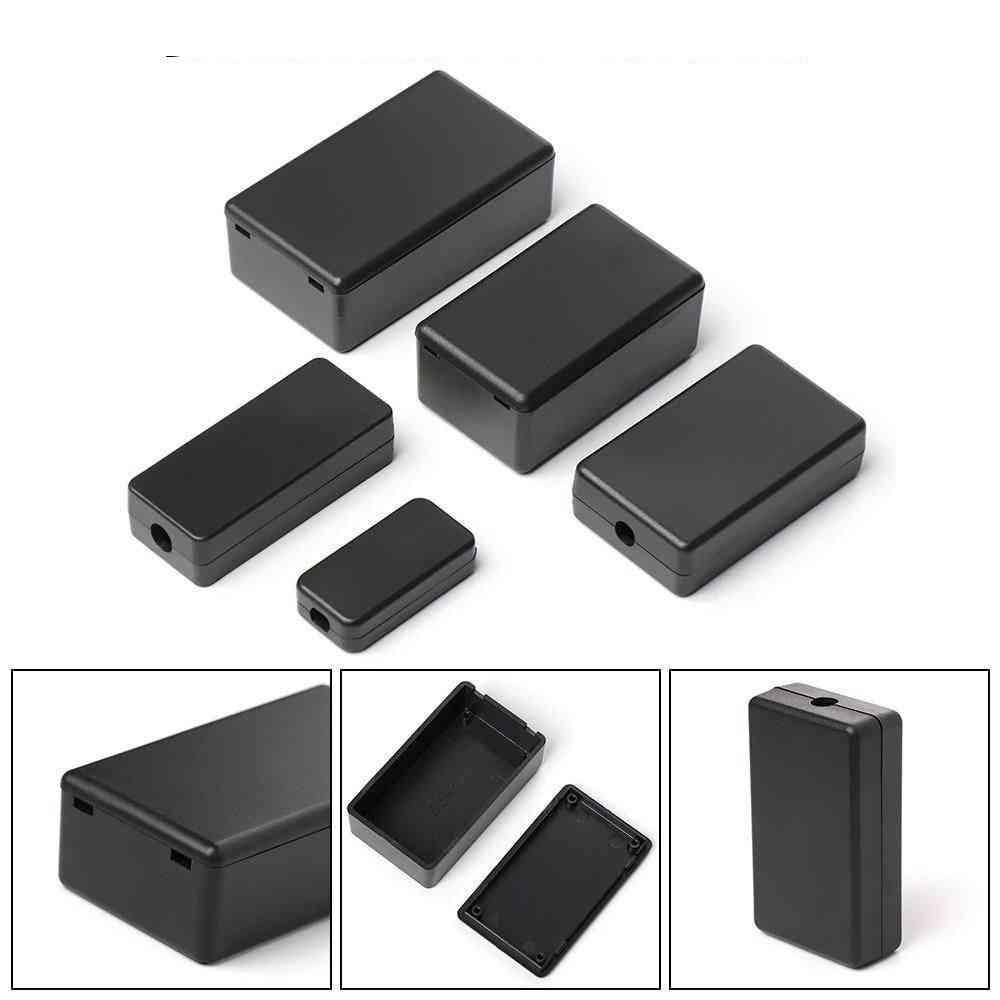 Waterproof Black Diy Housing Instrument Case Abs Plastic Project Box Storage Case