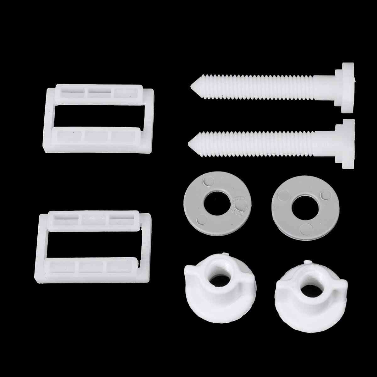 Toilet Seat Hinge Bolts Replacement Screws Fixing Fitting Kit