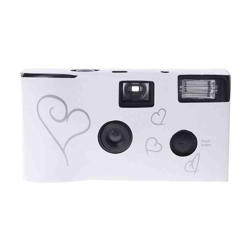 Silver Disposable Film Camera