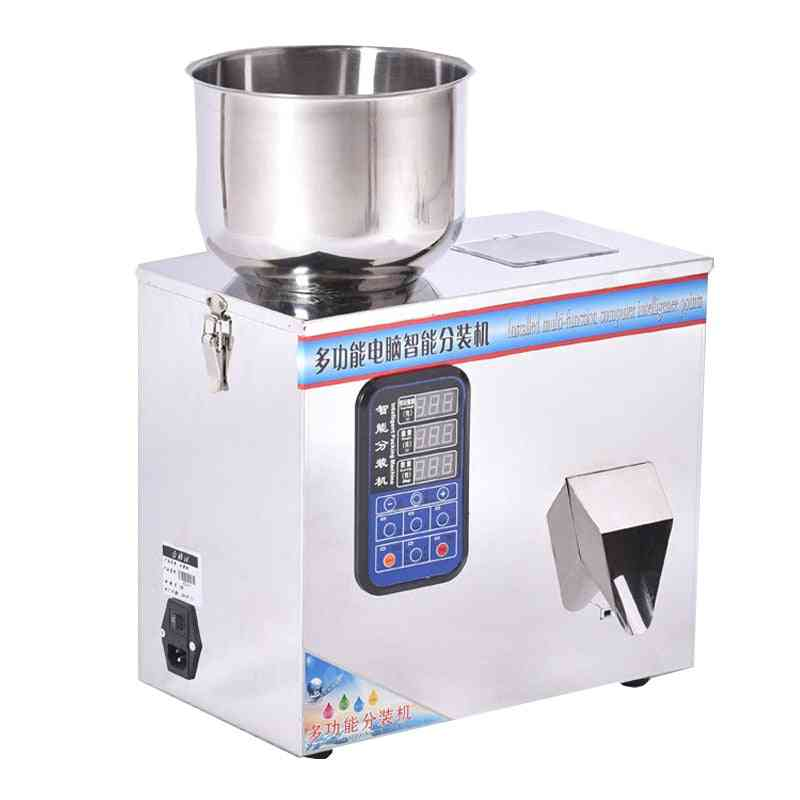 110v 220v Scale Herb Filling And Weighing Machine