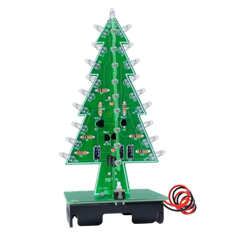 Color Light Flash Led Circuit Christmas Trees