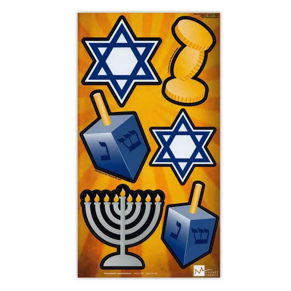 Magnets, Magnet Pack, Set Of 6, Hanukkah, 2
