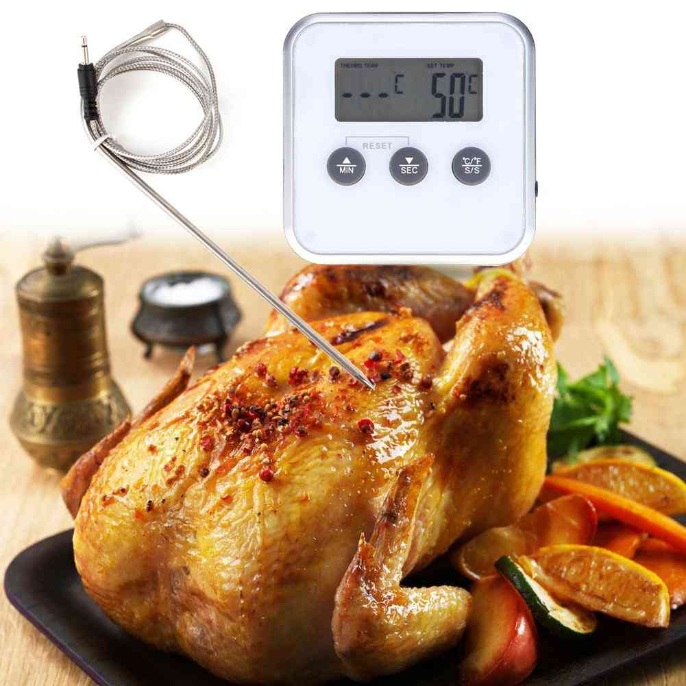 Digital Electronic Kitchen Thermometer With Probe Digital