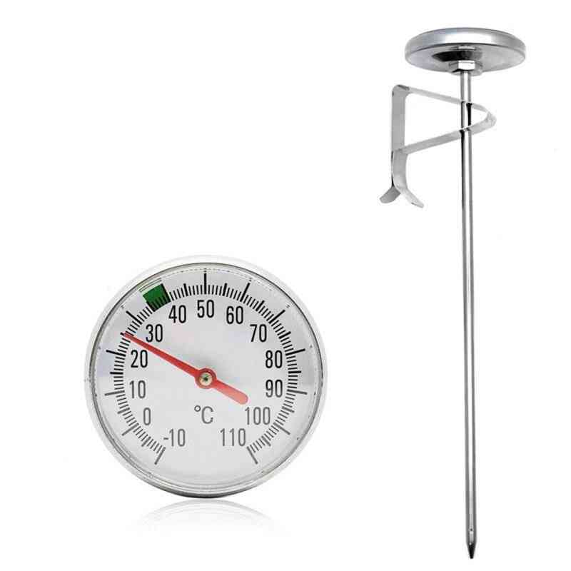 Instant Read Stainless Steel Food Thermometer