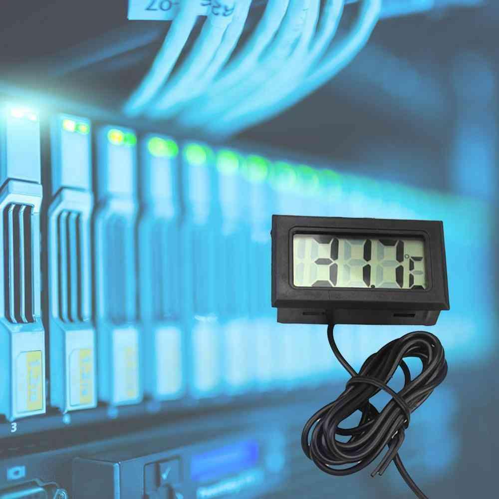 Aquarium Electronic Digital Lcd Display Water Thermometer