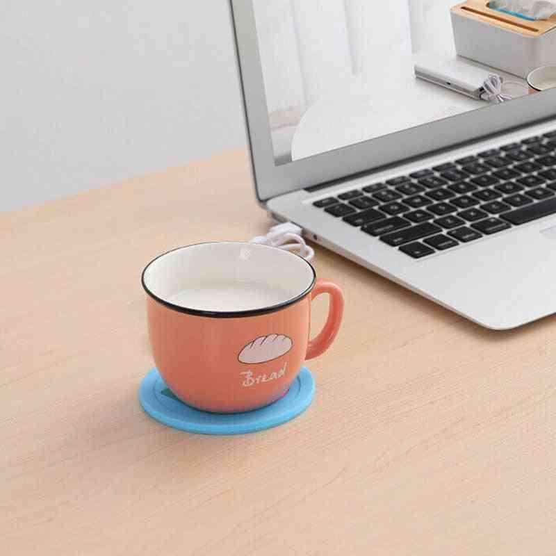Warmer Heating Cup Mat Pad Coasters
