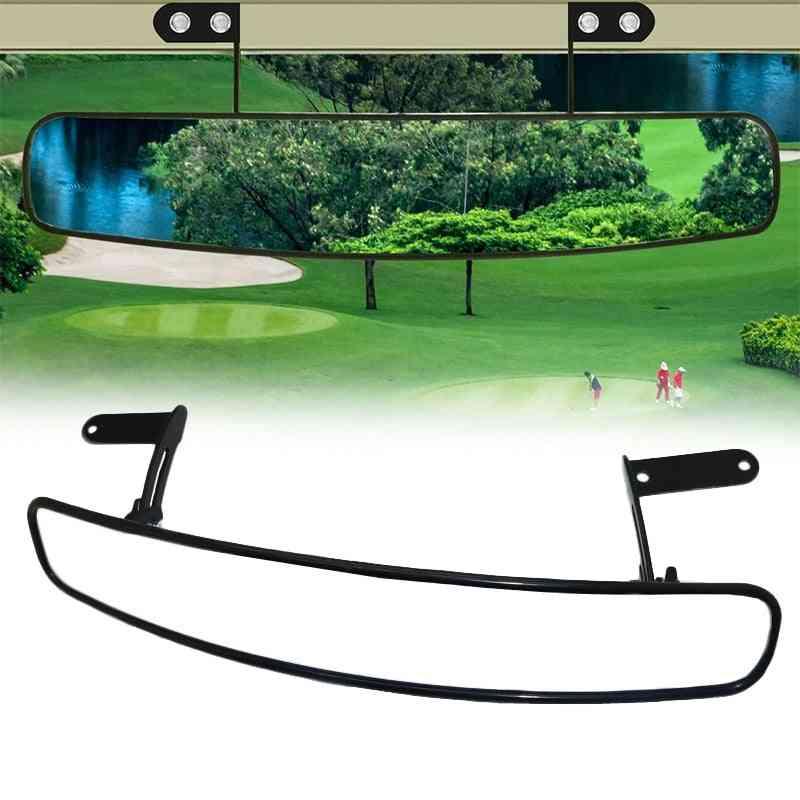 Universal Wide Rear View Convex Golf Cart Mirror