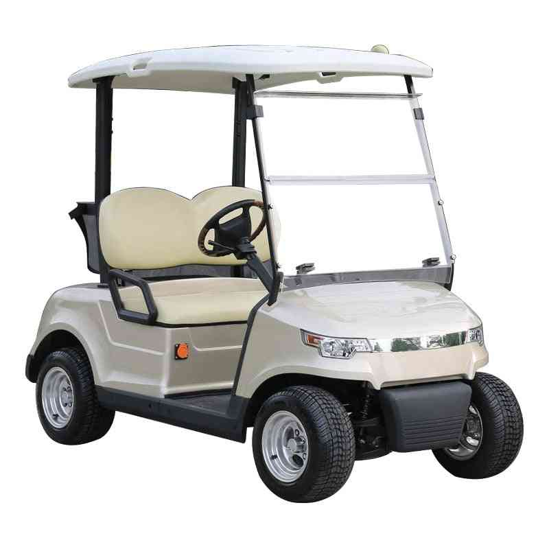 2-seat Open Golf Course Reception Car Park Scenic Spot Sightseeing Golf Buggy Four-wheel Electric Cruise Car