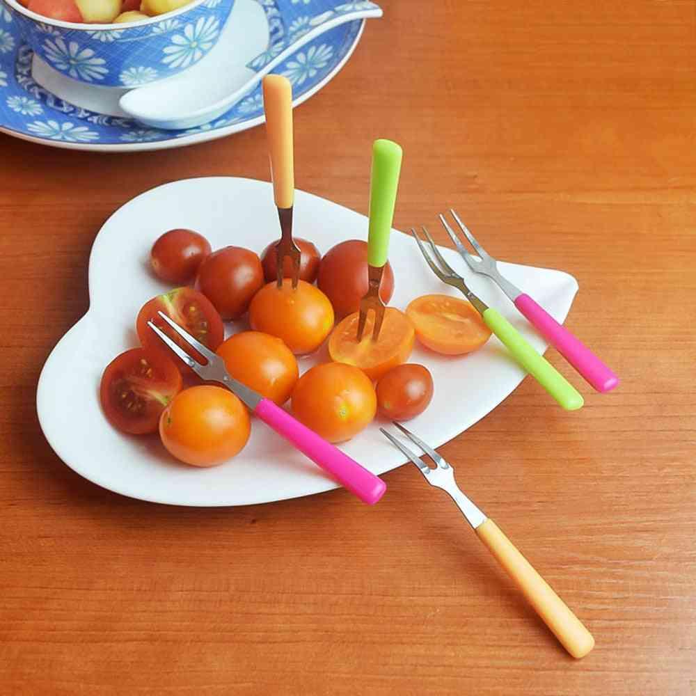 Steel Fruit Fork Set