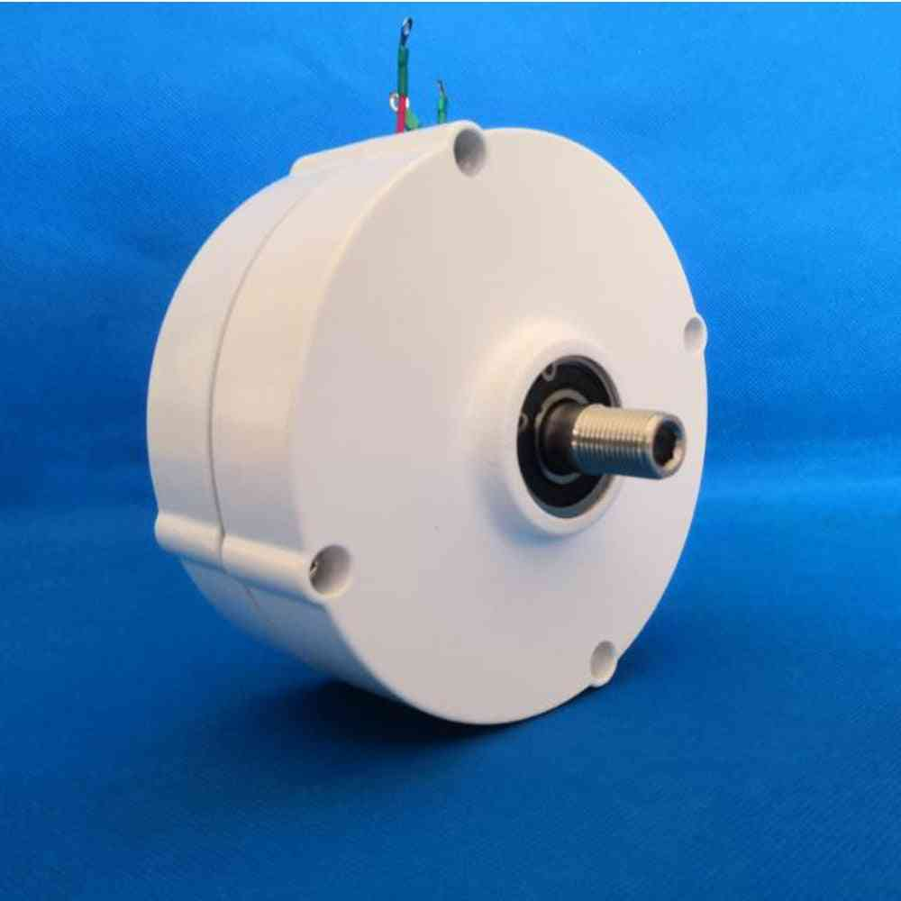 Generator Low Speed, Gearless Permanent Magnet Ac Alternators For Wind Water Turbine Diesel Engine