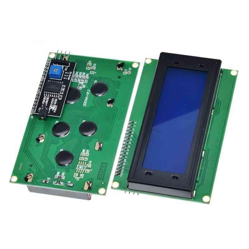 Blue Green Backlight Lcd Module For Arduino