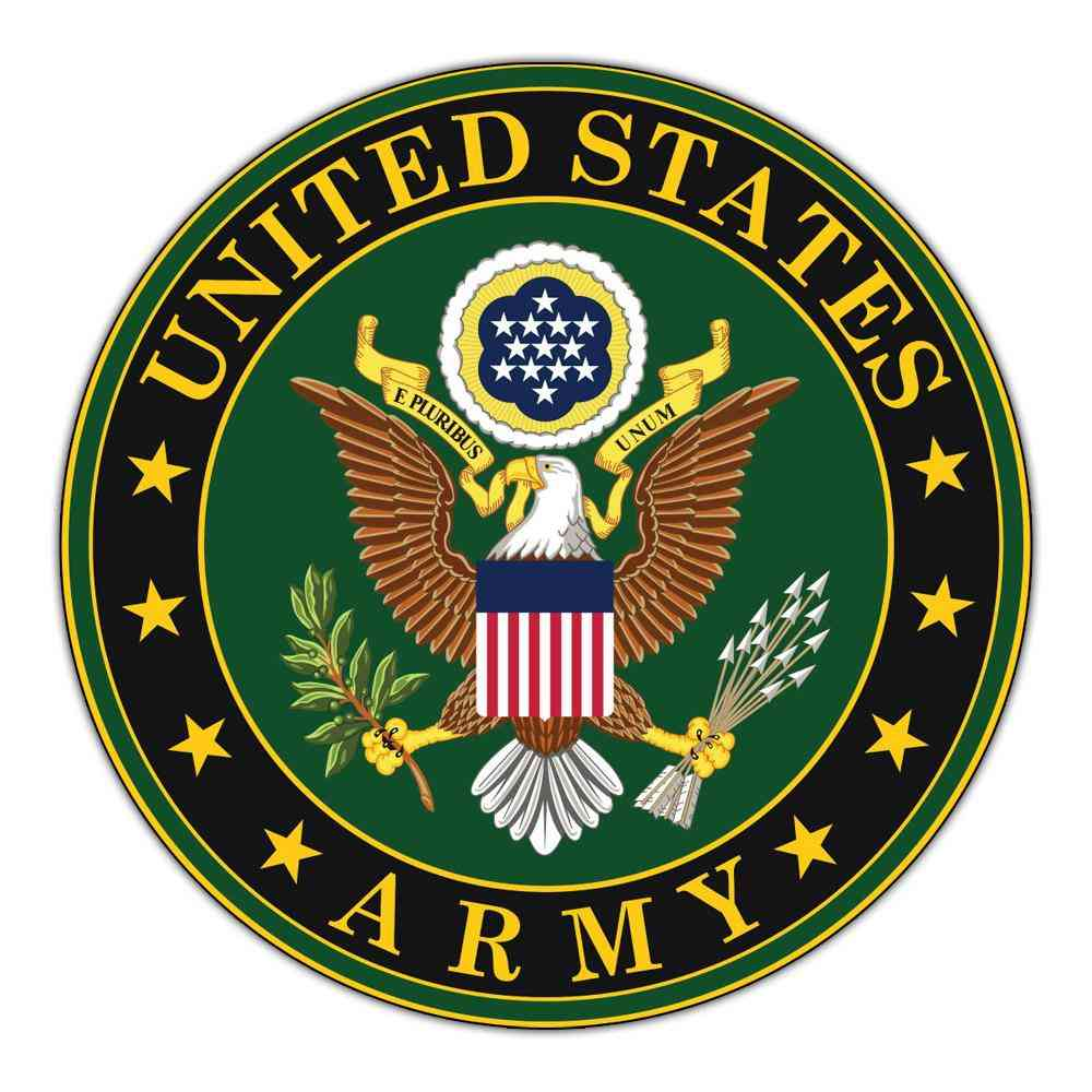 Magnet, Large Door Magnet, United States Army Official Seal, 11.5