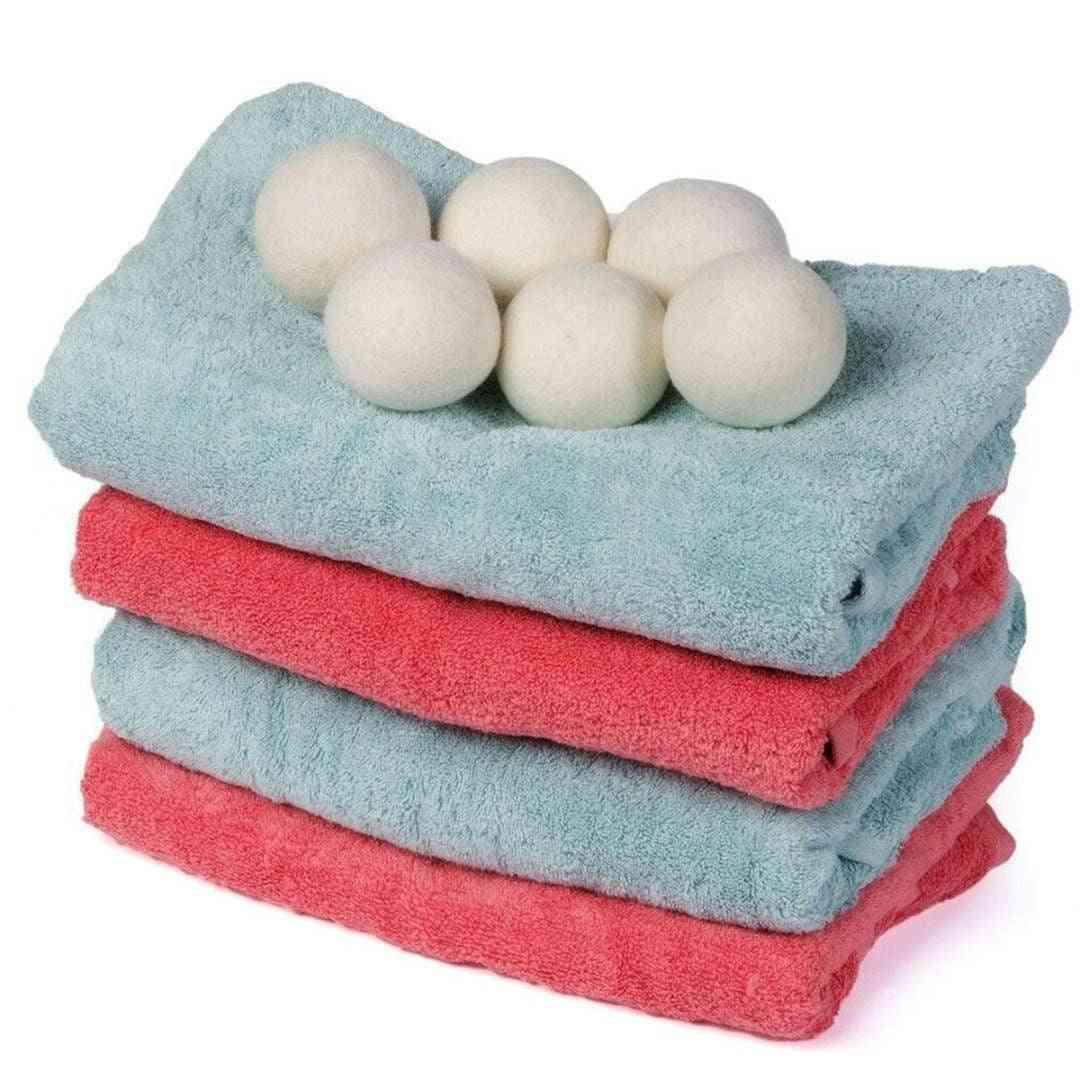 Reusable Softener Laundry Wool Dryer Balls