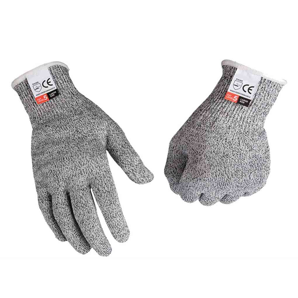 Kitchen Gardening Hand Protective Gloves, Butcher Meat Chopping Gloves