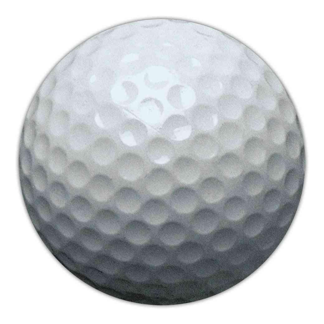 Magnet, Round, Golf Ball, 4.75