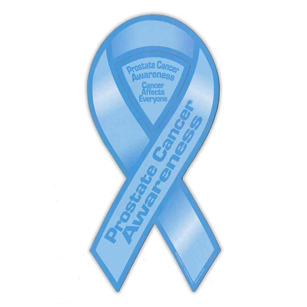 Magnet, Ribbon, Prostate Cancer Support, 4