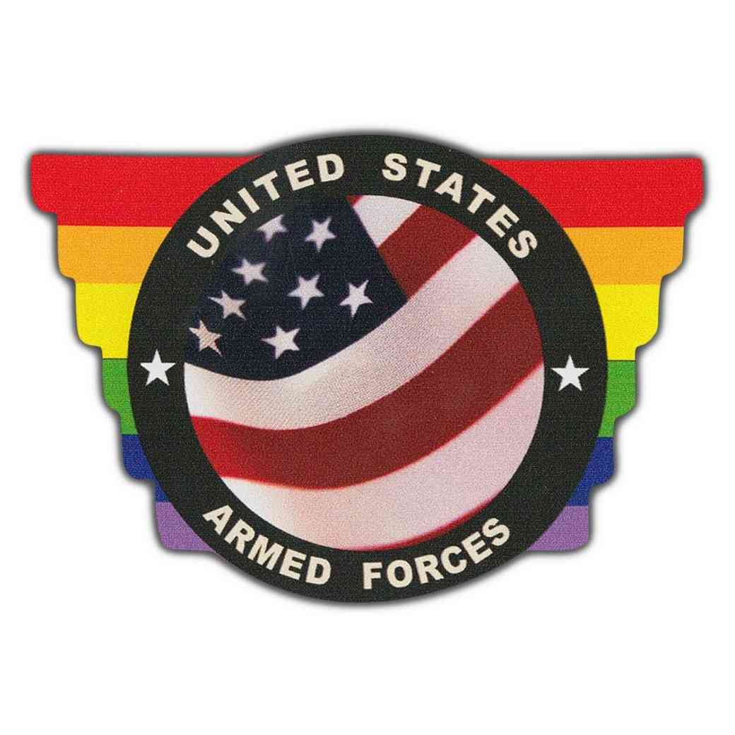 Sticker, Bumper Sticker, United States Armed Forces, 4