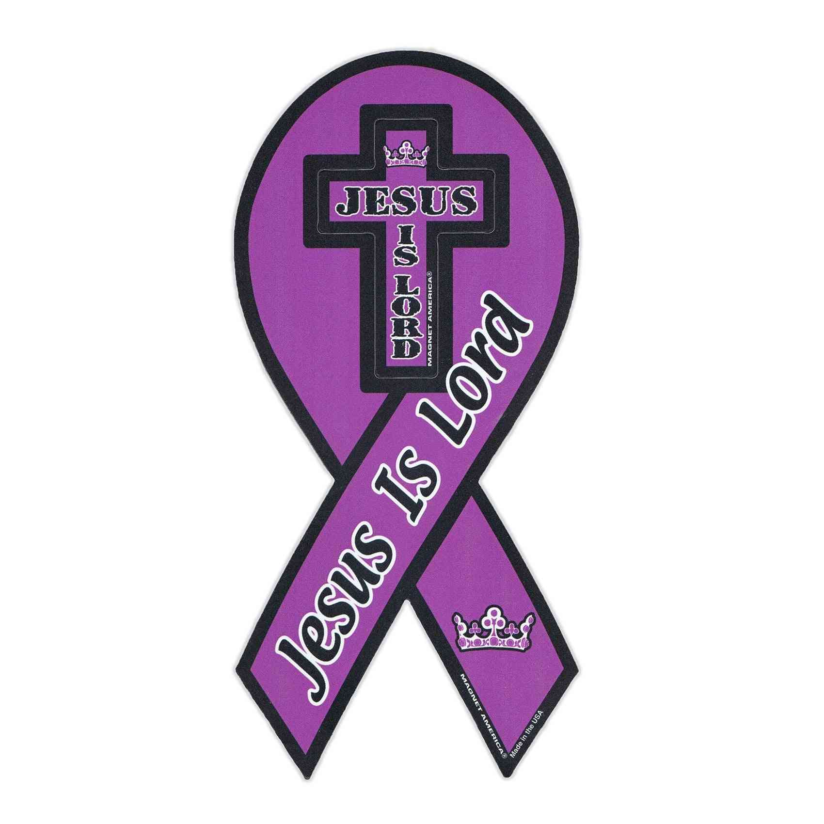 Magnet, Ribbon, Jesus Is Lord, 4