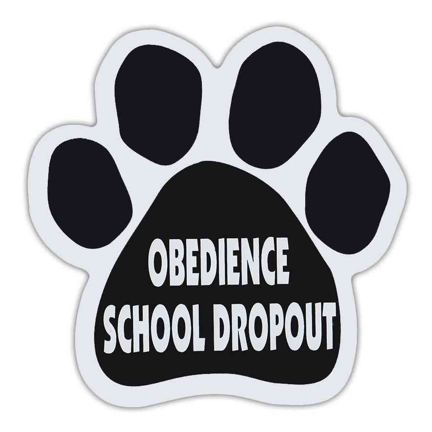 Magnet, Dog Paw, Obedience School Dropout, 5.5