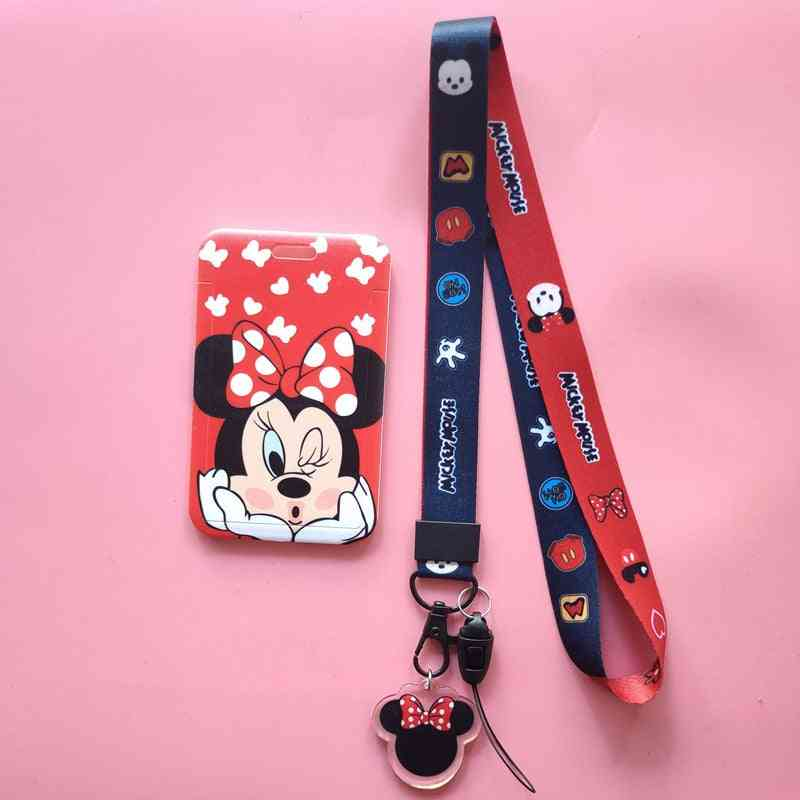 Disney Cartoon Pvc Mickey Mouse Student Campus Card