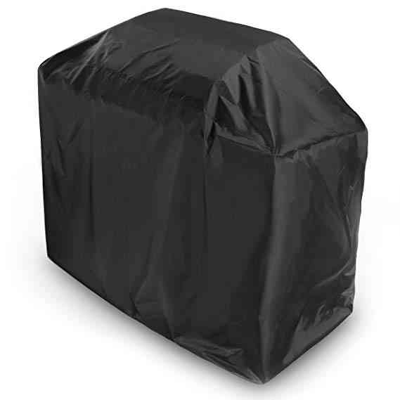Electric Barbeque Grill Protection Black Cover