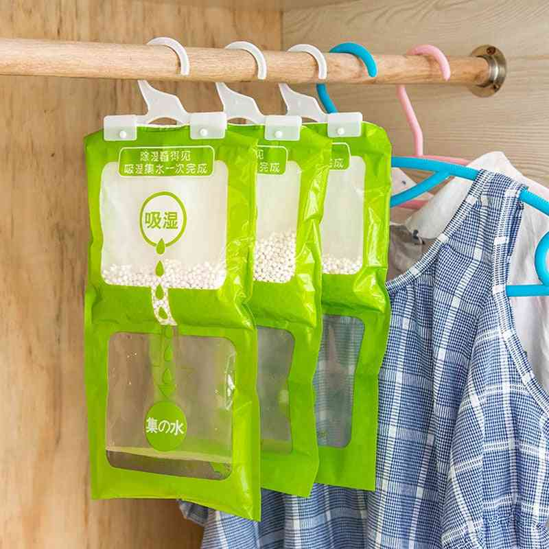 Wardrobe Absorbent Hanging Drying Agent Dehumidifier Bags