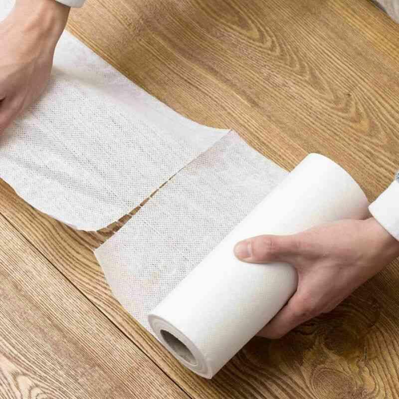 Kitchen Disposable Eco-friendly Rag, Non-woven Dish Cloth