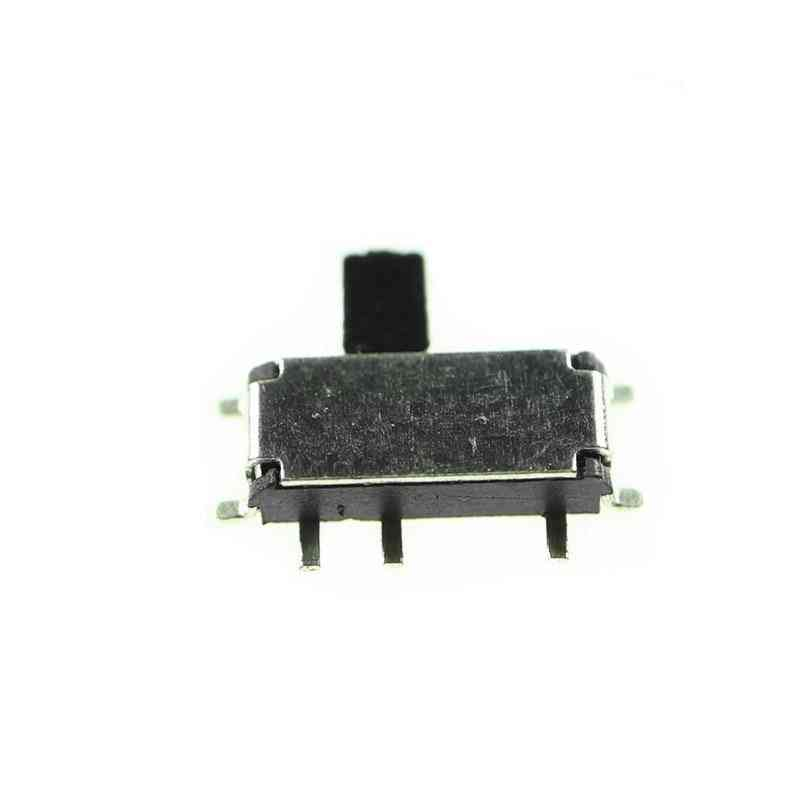 Mini 7-pin On/off 1p2t Spdt Msk-12c02 Smd Toggle Slide Switch For Mp3 Mp4