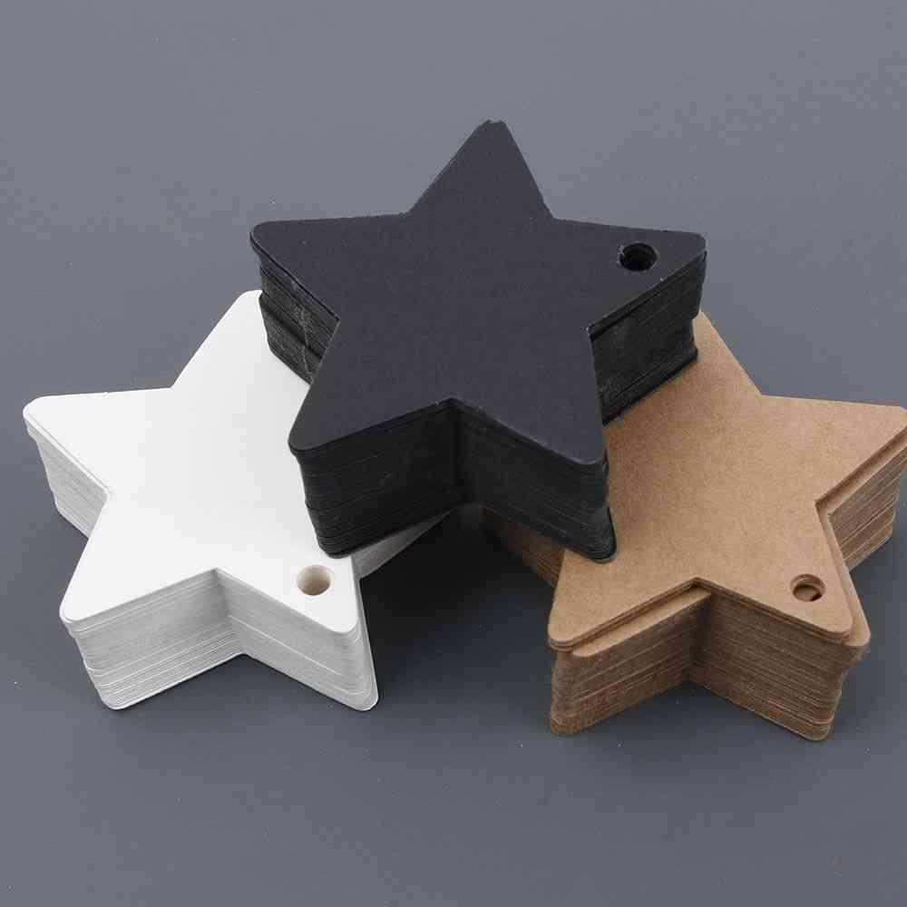 Multi-use Star Kraft Paper Wedding Label Party