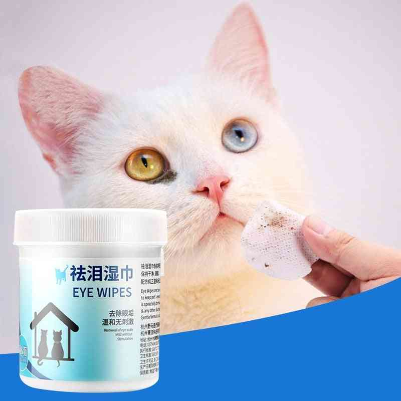 Pet Eye Wet Wipes Dog Cleaning Paper Towels