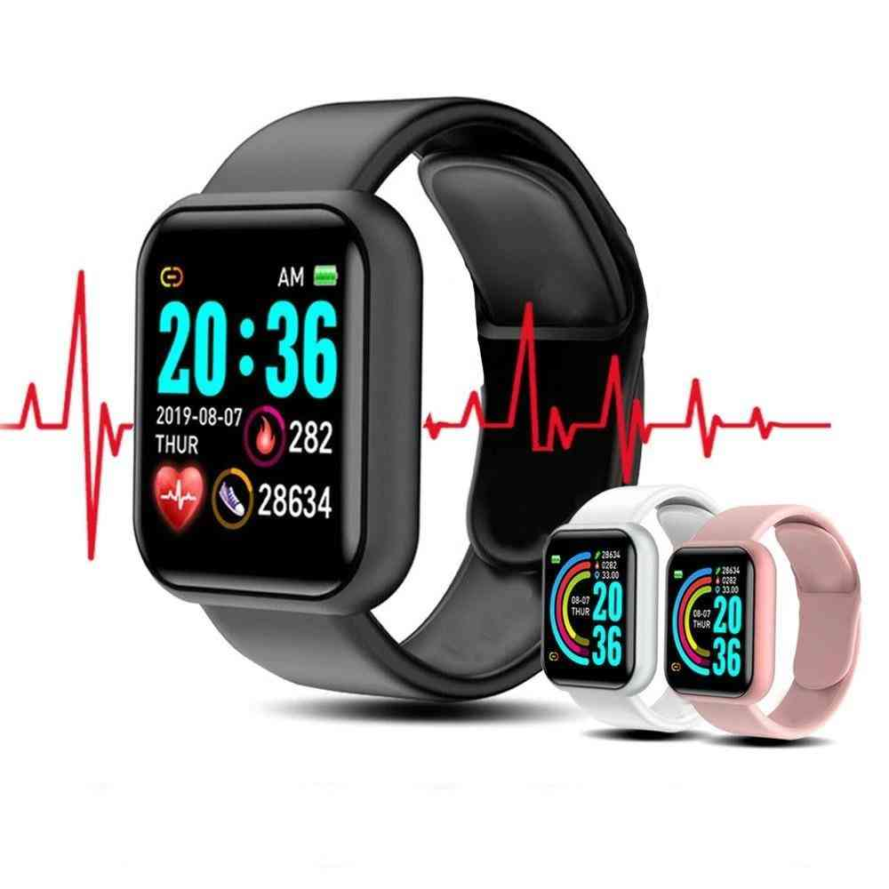 Smart Watch Wristband Fitness Blood Pressure Heart Rate Android Pedometer