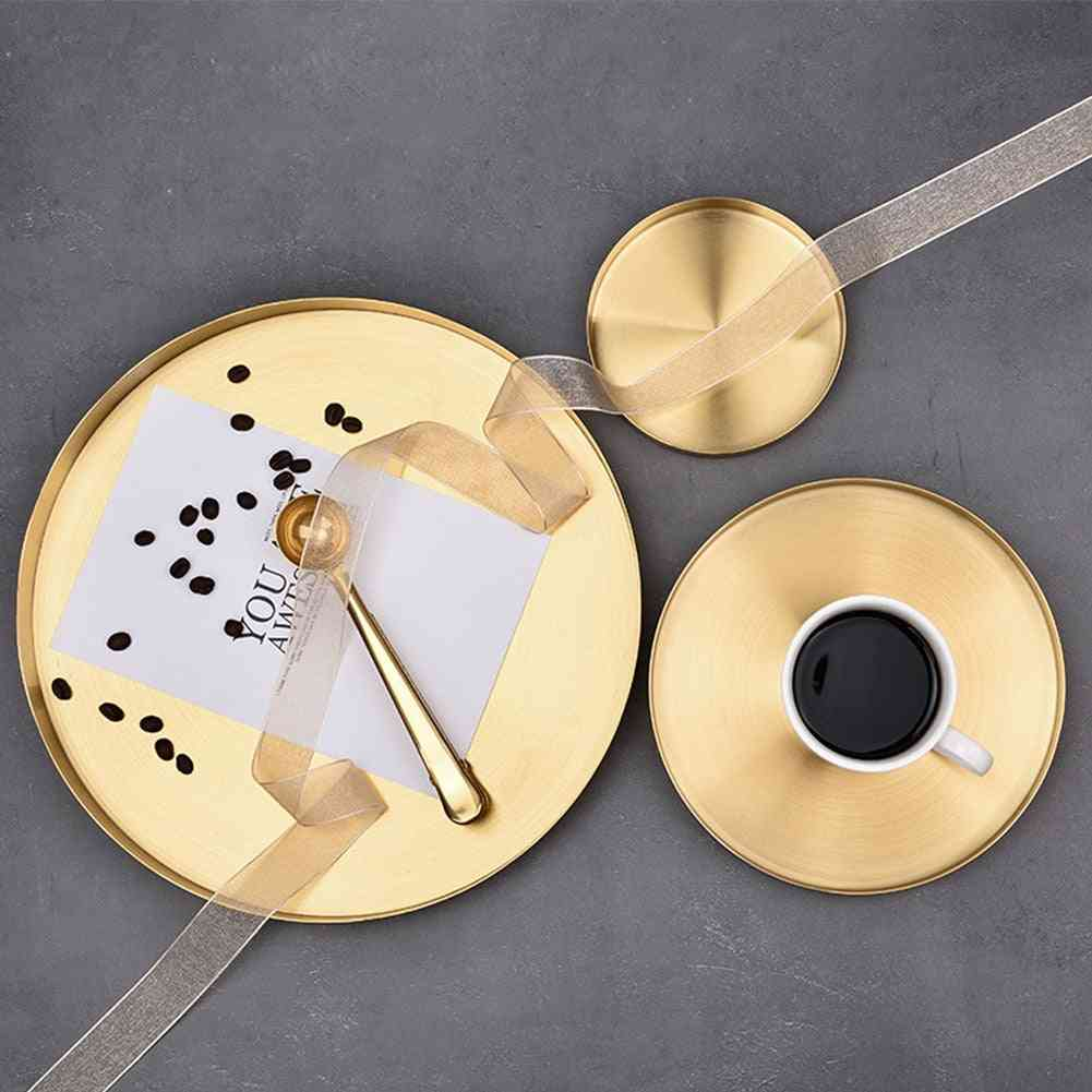 Round Shape Stainless Steel Display Plate