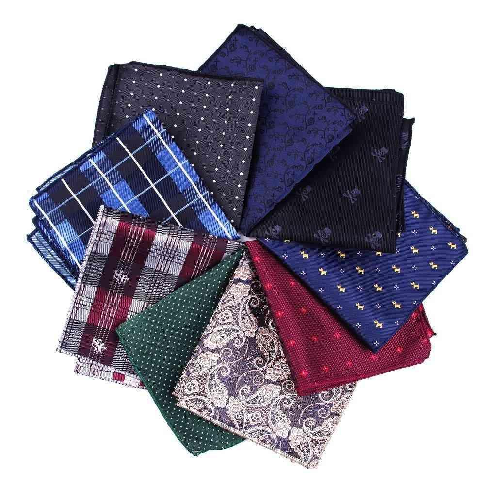Cravat Hankerchief Practical Hankies Men's Pocket