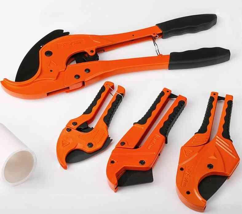 Pvc Pipe Cutter, Aluminum Alloy Body Scissors Tube Cutter