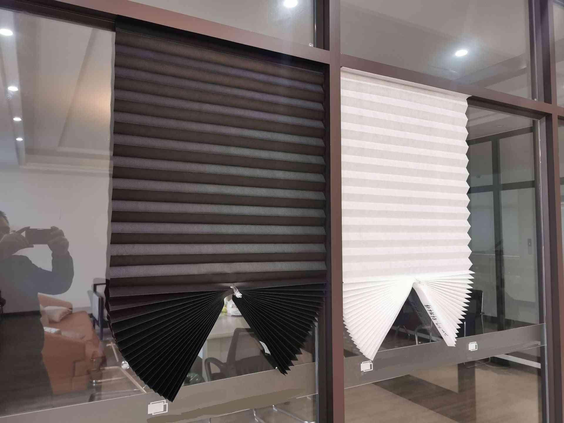 Cordless Pleated Light Blocking Shade / Curtain Blackout
