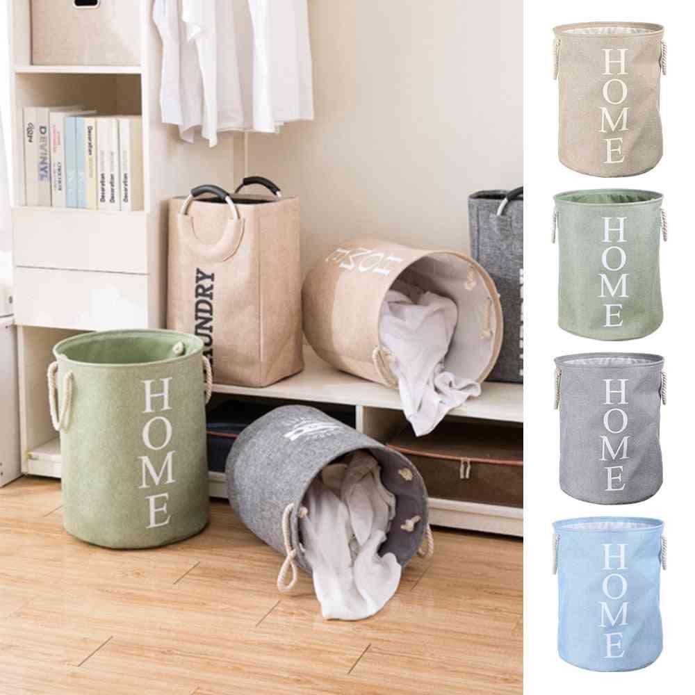 Laundry Basket Bedroom Wardrobe Clothes Organizer