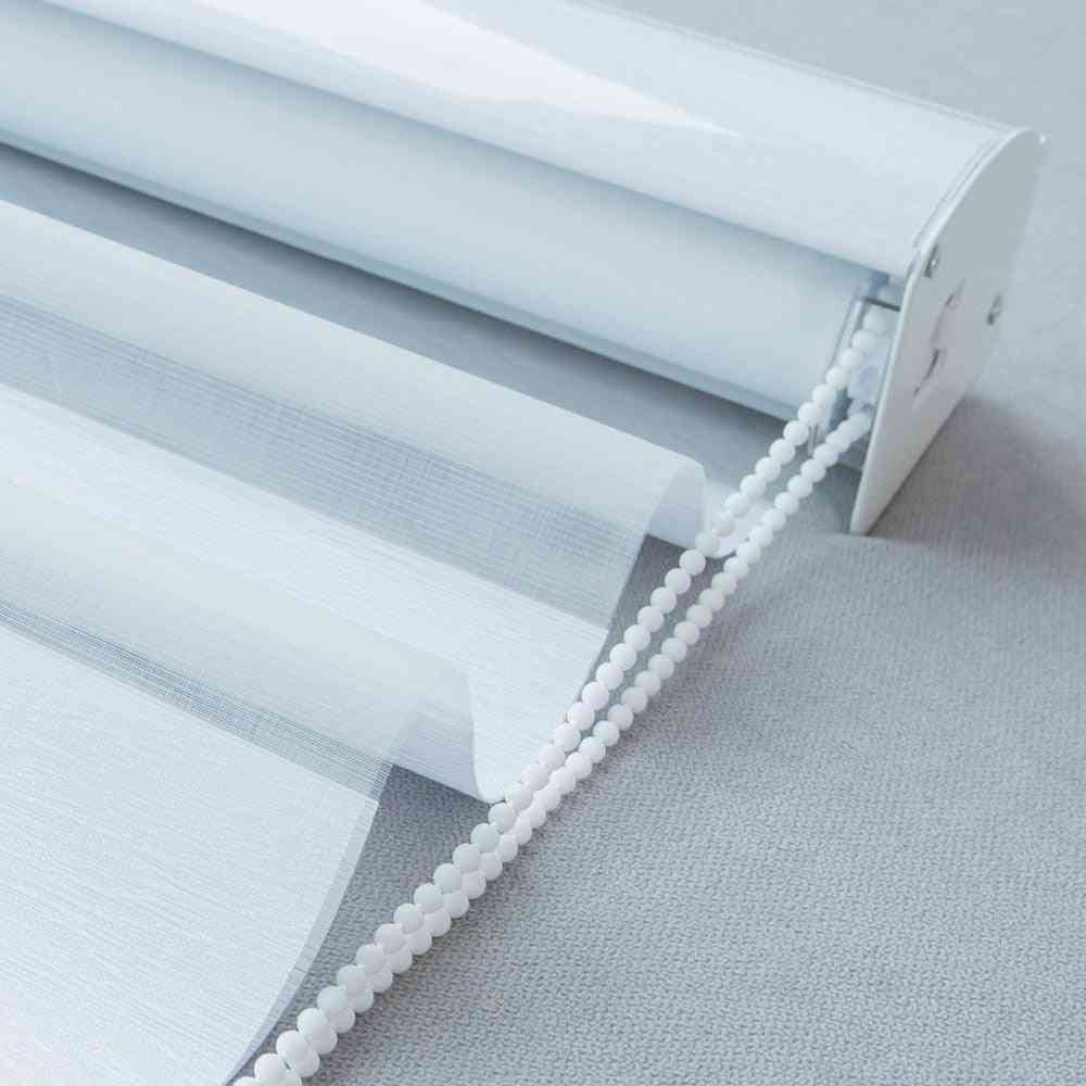 Popular Soft Fabric Zebra Shades Roller Blinds